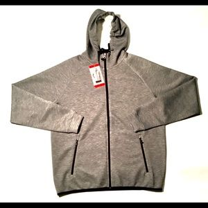 NWT MENS 32 DEGREES TECH FLEECE ZIP UP HOODIE